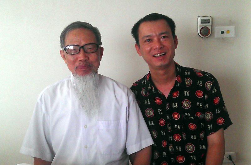 Anh Quang và thầy Long